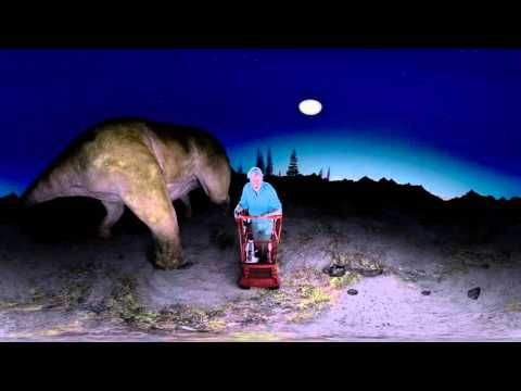 Im 360-Grad-Dinosaurier-Video steht der Erzähler mitten im Getümmel | WIRED Germany