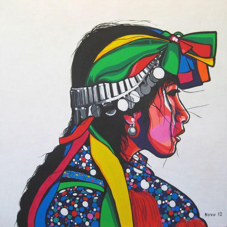 Mapuche graffiti