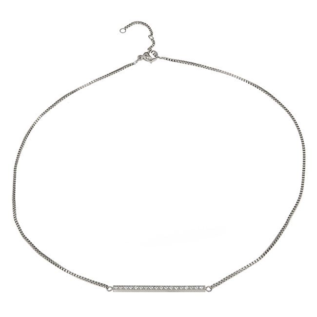 Ingnell Jewelley - Line necklace steel. Stainless steel. www.ingnelljewell.com