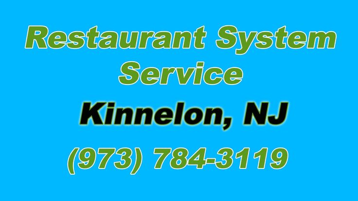 Restaurant Fire Suppression System Service Kinnelon NJ (973) 784-3119 ..So After working two jobs and putting yourself through Culinary School.... and saving...