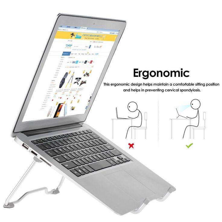Portable Laptop Stand Foldable Holder Notebook Support Adjustable Desktop Bracket Laptop Stand for tablets MacBook Air Pro