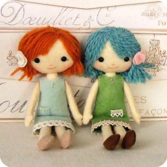 Pocket Pixie PDF pattern from Gingermelon--How cute are they?