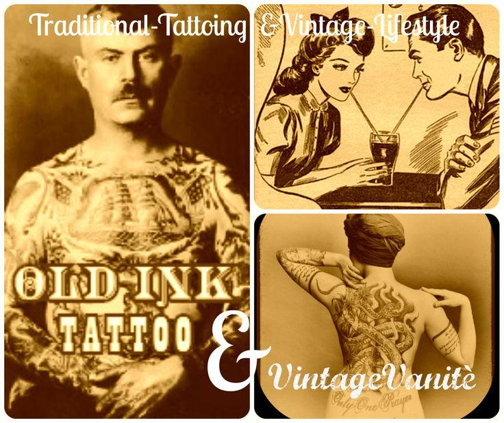 Old-Ink&Vintage vanitè vintage lifestyle&tattooing HandMade Super Clothing&Costumes!!!Keep it Real!!!Like My Facebook page  Vintage-Vanitè!! <3