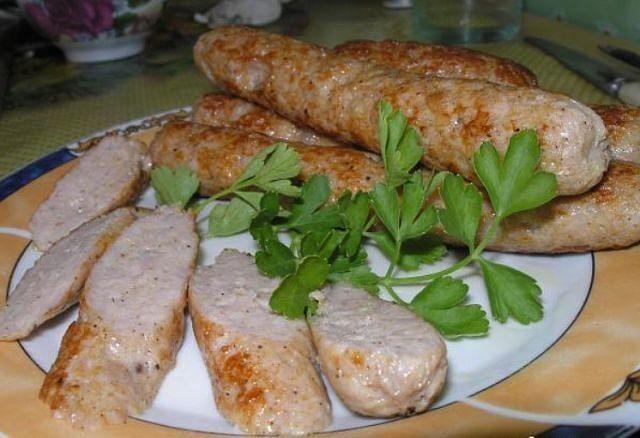 Homemade chicken sausage | Good food. Best Recipes