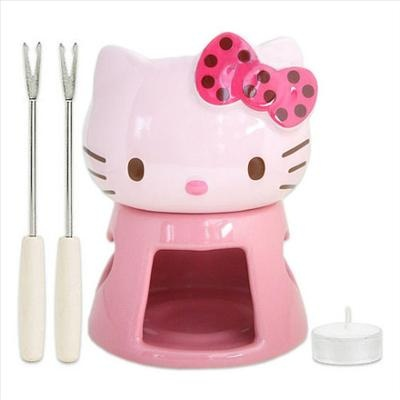 Hello kitty fondue