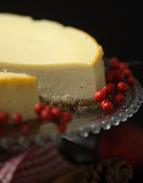 Classic New York Cheesecake-Winter Edition