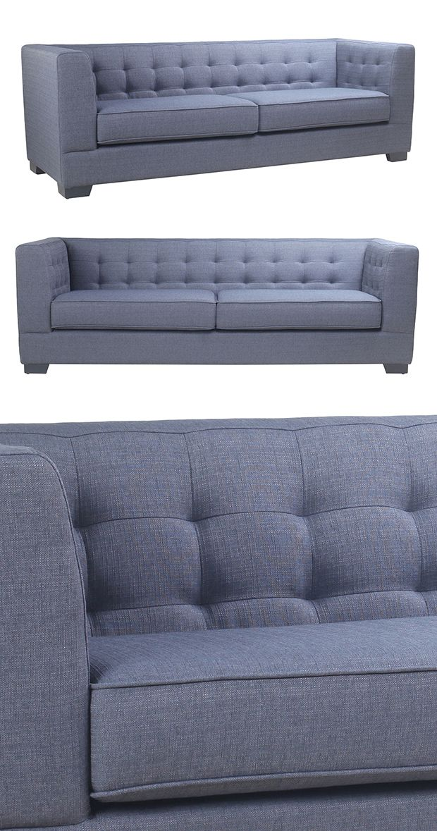 With Its Clean, Angular Shape, This Darian Sofa Is Real Easy On The Eyes.  Its Contemporary Silhouette Is Cloaked Inu2026