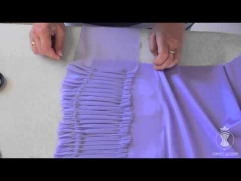 Видеоурок Драпировка на чашке. Детские нарядные платья - YouTube
