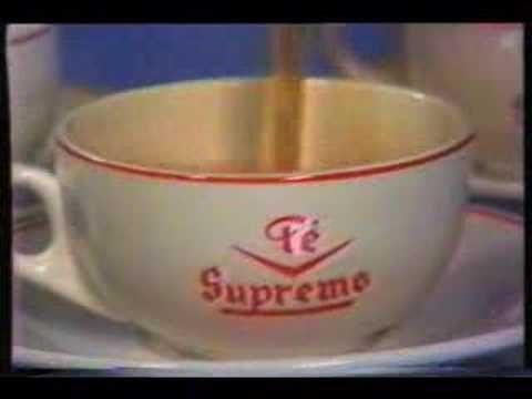 """Te Supremo - """"La rendidora de Te Supremo"""" - de fines de los 70s o principios de los 80s"""