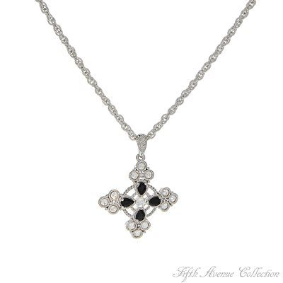 Rhodium Neckpiece - Gothic Glamour - Australia - Fifth Avenue Collection - Jewellery that changes the way you see fashion
