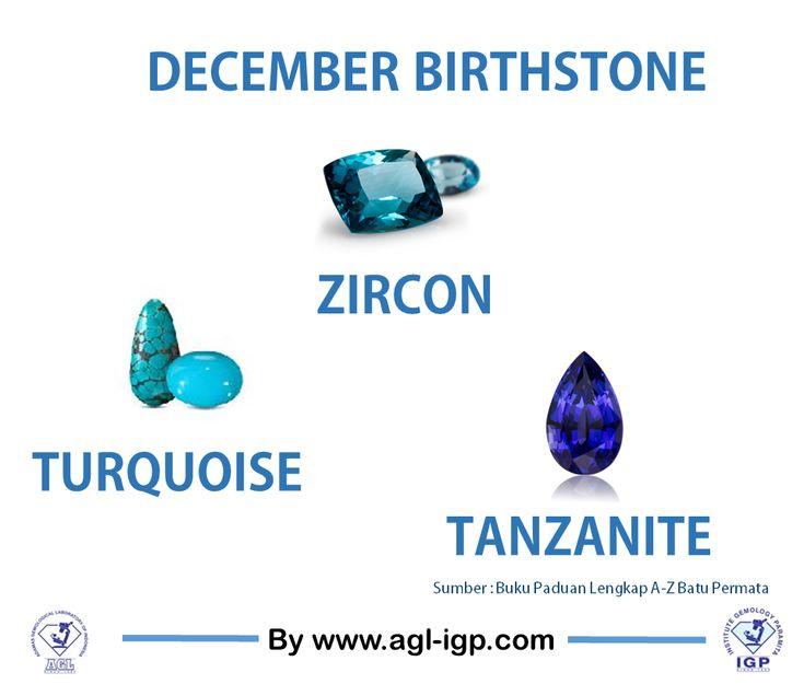 December Birthstones
