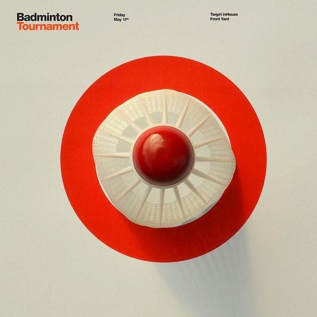 Target Badminton Poster