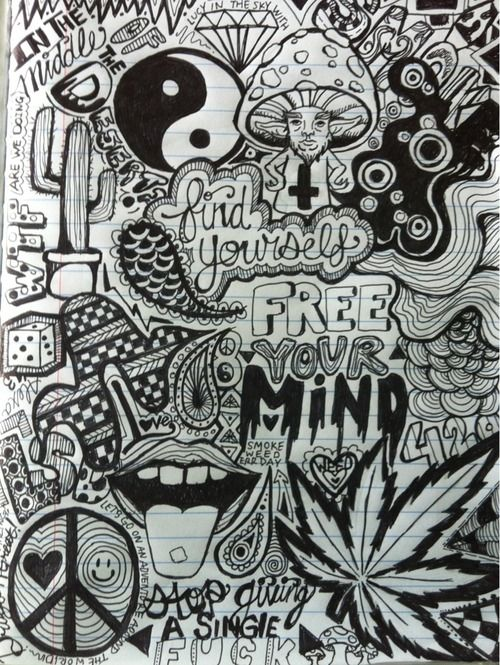 weed doodles - Google Search