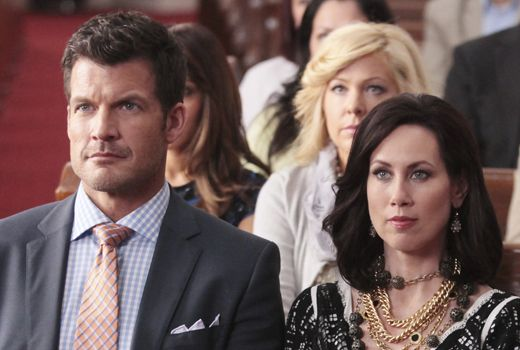 Mark Deklin and Miriam Shor talk Blake, Cricket and Amanda. Warning: spoiler alert if you haven't watched the 'G.C.B.' premiere yet