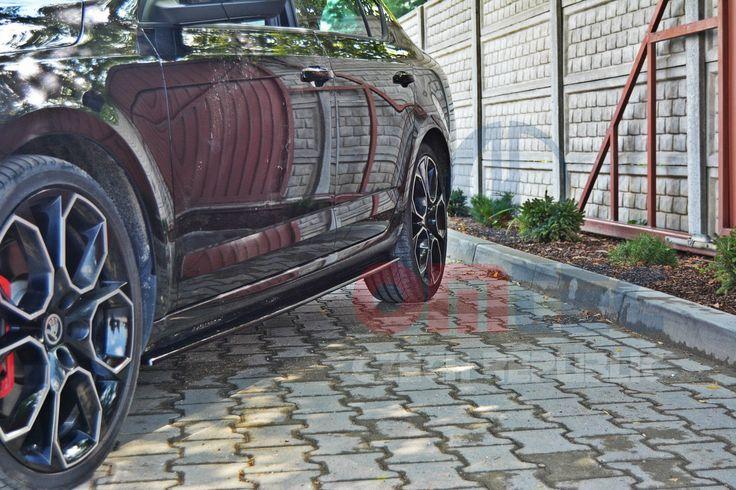Škoda Octavia III - boční nástavce prahů DTM V3X