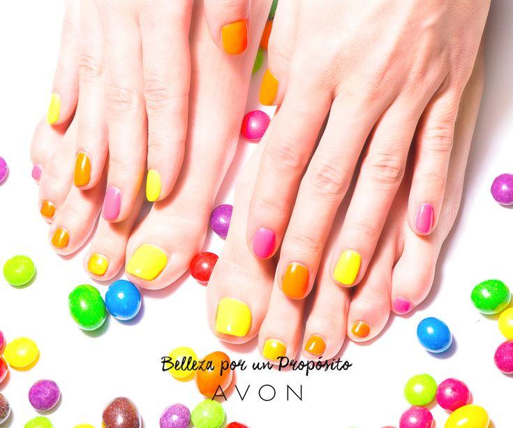 ¡Amor amarillo para nuestras uñas! ¿Te animás a jugar con estos tonos?