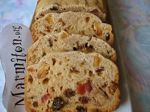 Recette Cake aux fruits à la map (machine à pain)