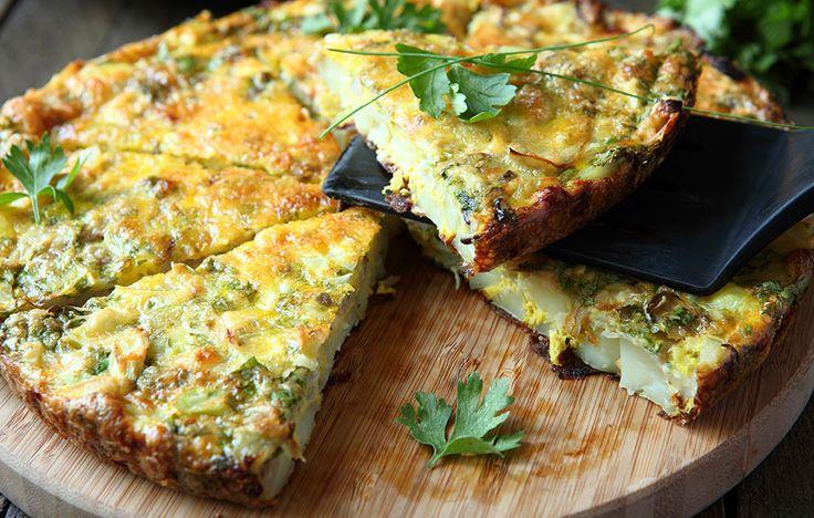 Recipe: Italian Frittata With Zucchini, Leeks, and Parmesan  http://www.rodalewellness.com/food/recipe-italian-frittata-zucchini-leeks-and-parmesan