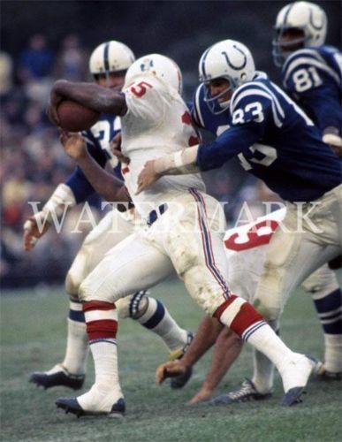 Jim Nance Boston Patriots 1965-70, New England Patriots 1971 and New York Jets 1973.