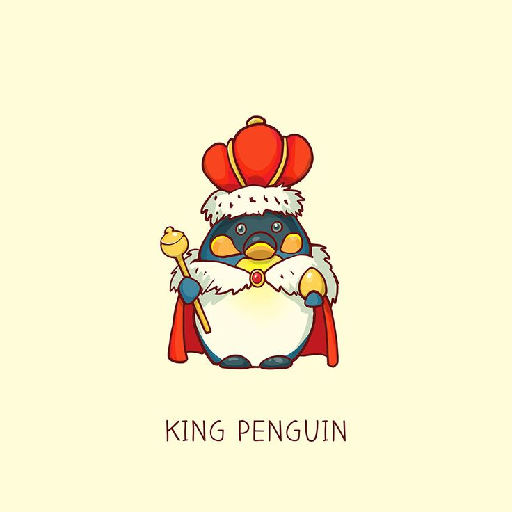 You´ve got the king penguin, emperor penguin and the royal penguin. I just couldn´t resist be prepared for much more penguins ;)