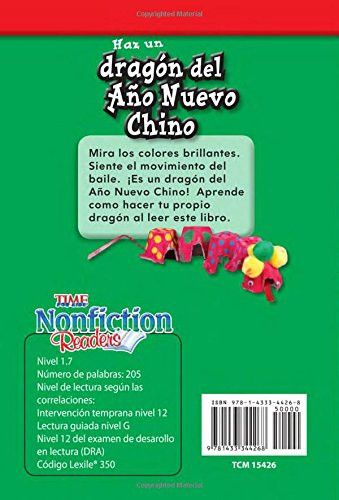 Haz un dragón del Año Nuevo Chino (Make a Chinese New Year Dragon) (Spanish Version) (TIME FOR KIDS®