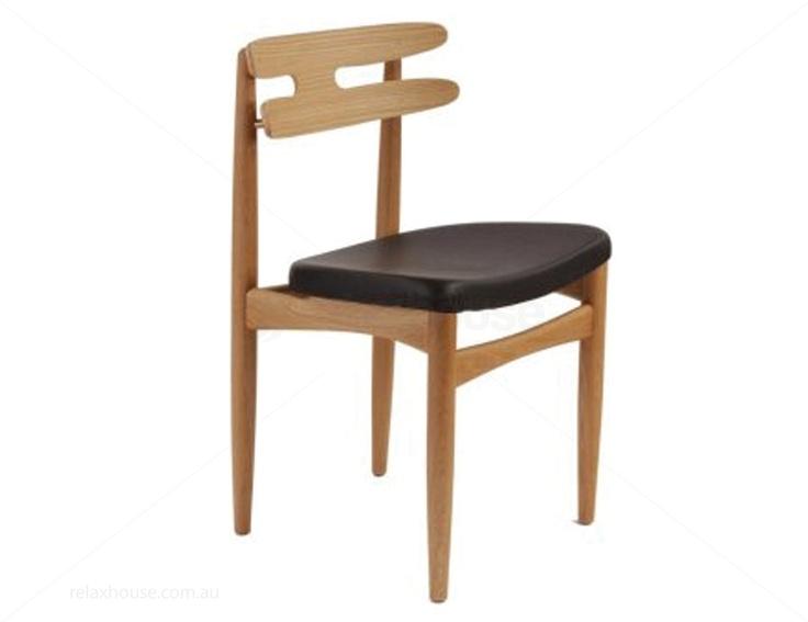 Timber Dining Chair - Natural Ash