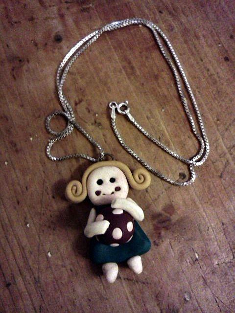 girl pendant