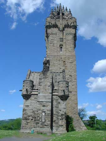 William Wallace Memorial, Stirling, Scotland