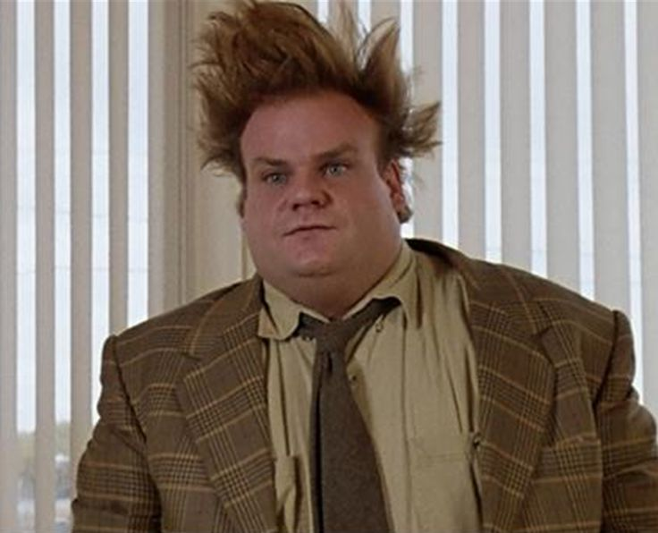 Tommy Boy!!!!!!!!!!!!!!!!!!!!!!!!!!!! This man was way too funny! Love him! And the hair! HAHA!