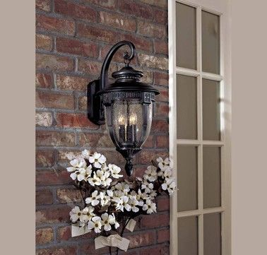 The Great Outdoors Burwick 3 Light Wall Mount