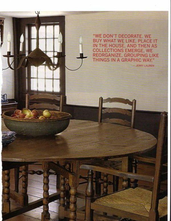 Mbel Kolonialstil Esstisch Mit Sthlen Holz Kronleuchter Kerzen
