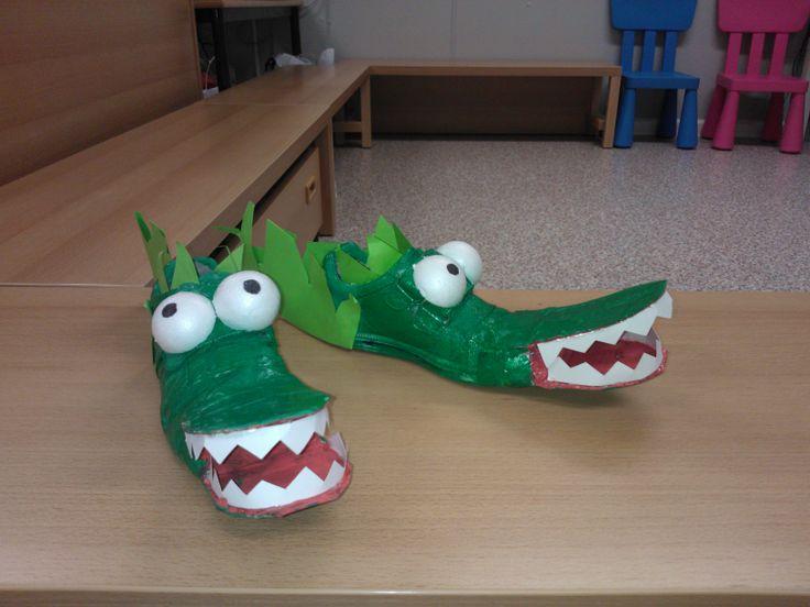 schoenen: krokodil