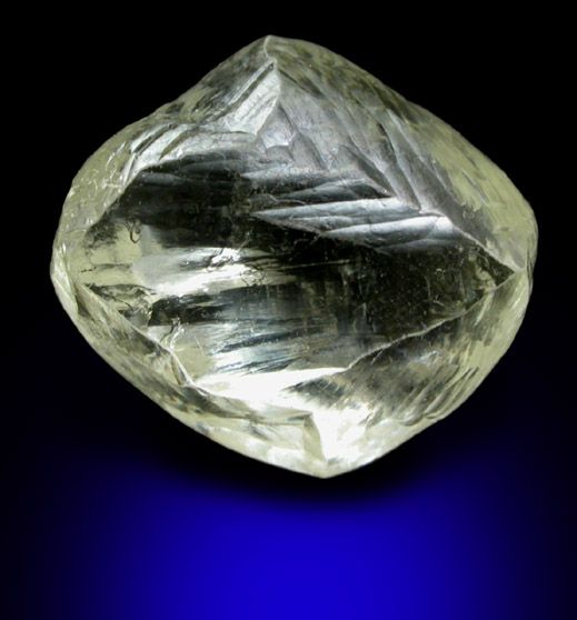 An Uncut Diamond Shows Its Own Natural Beauty With A