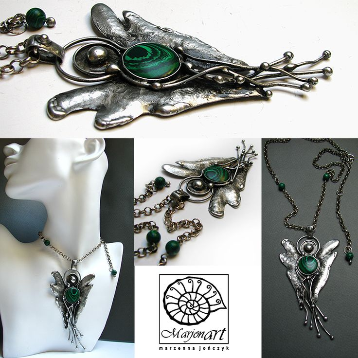 www.facebook.com/marjonart #jewellery #jewelry #angel #anioły #necle #handmade #art #necklace #handmade