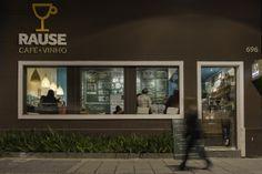 Cardápio em giz para a Rause Café - Criação do pessoal da Criatipos e Cristina Pagnoncelli.