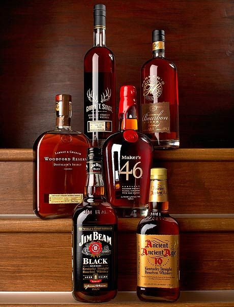 Has Mad Men brought back the office bar? I doubt it. While the days of bourbon shots at the workplace are long gone, it doesn't hurt to reminisce and take a look at some of the popular bourbons of office past.