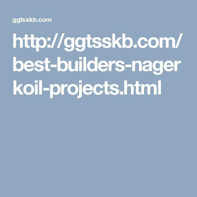 http://ggtsskb.com/best-builders-nagerkoil-projects.html