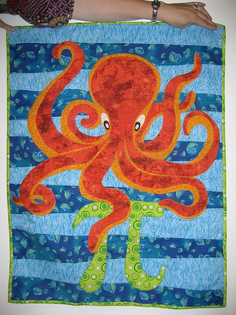 17 Best Images About Octopus Quilts On Pinterest Gardens