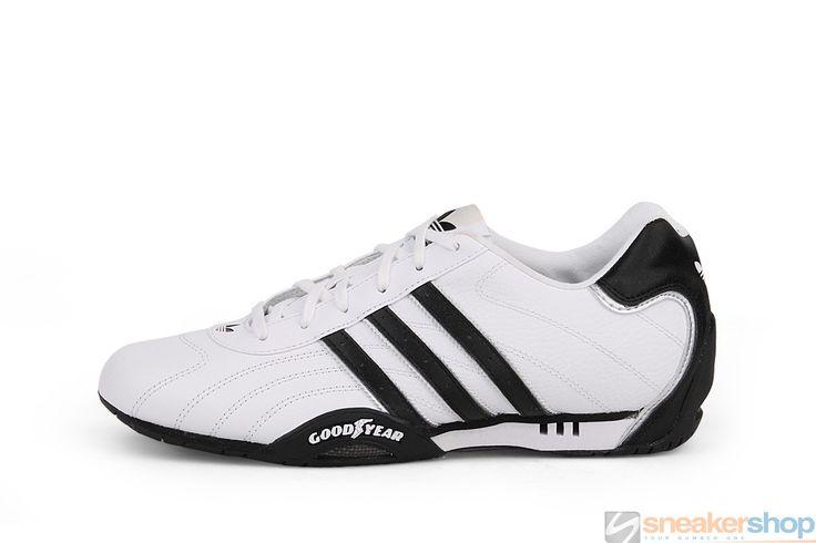 Adidas Adi Racer Low (White/Black/Metallic Silver) | G16080