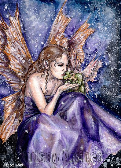 Dragon Kisses by LinzArcher.deviantart.com