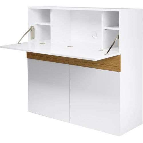 Found it at Wayfair.co.uk - Lentell Credenza Desk with Cable Management