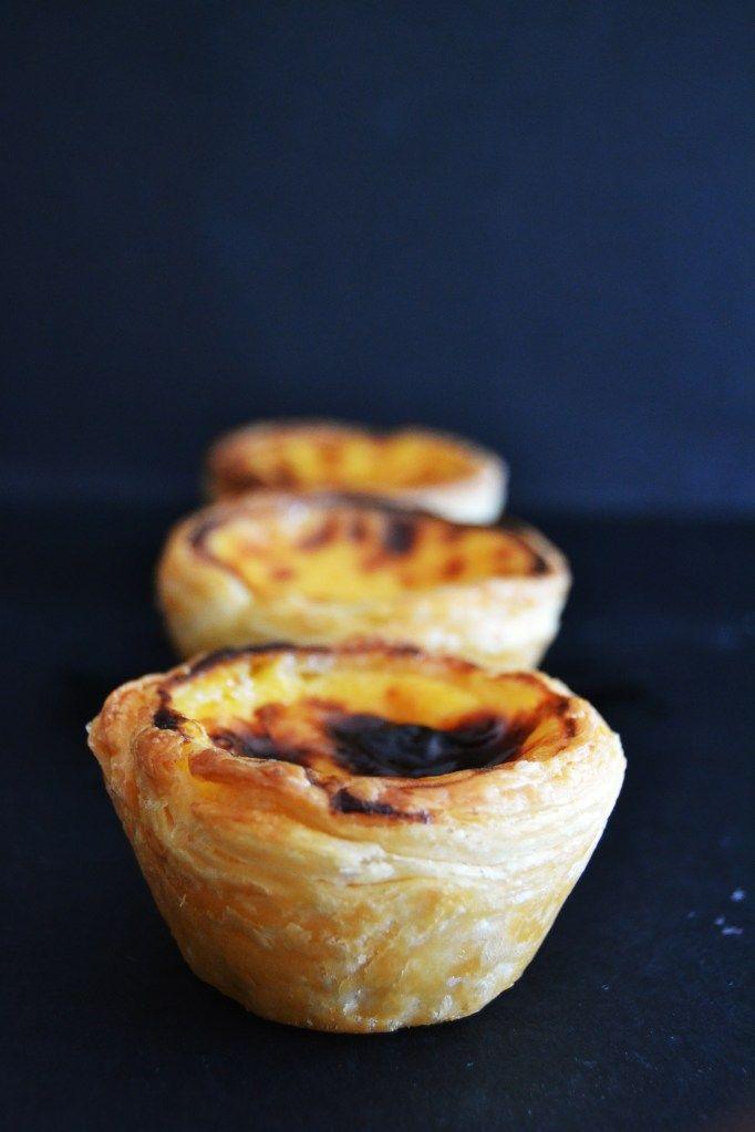 Real portuguese custard tart - pasteis de nata by Vânia Costa - Sabores da Alma