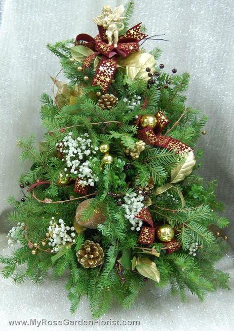 Tabletop Balsam Tree - Delivered by myrosegardenflorist.com