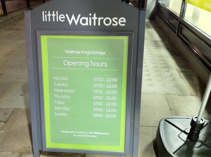 Waitrose - Knightsbridge