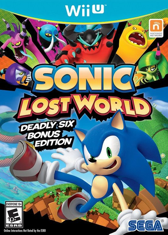 Sonic: Lost World Deadly Six Bonus Edition (Wii-U)
