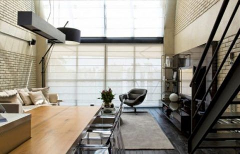 Minimalist Loft Space Designs With Practical And Integrated Decorations - http://www.laddiez.com/home-decoration/minimalist-loft-space-designs-with-practical-and-integrated-decorations.html - #DECORATIONS, #Designs, #Integrated, #Loft, #Minimalist, #Practical, #Space, #With