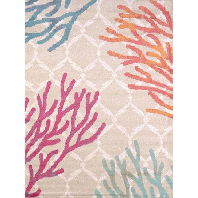 United Weavers of America Regional Concepts Tropical Reef Area Rug & Reviews | Wayfair