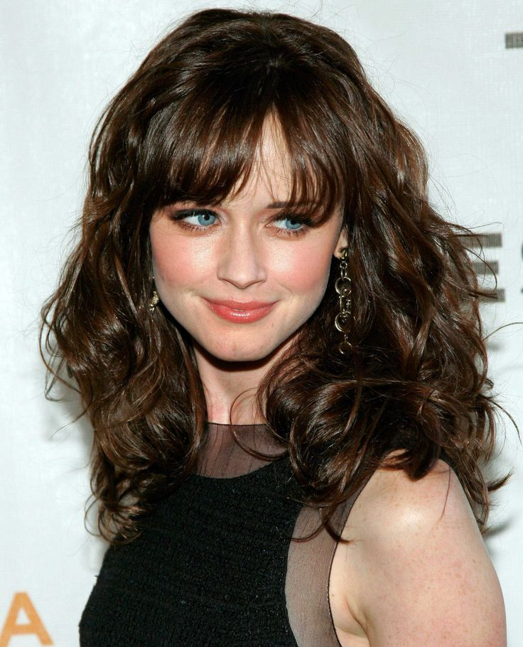 Curly Hair Styles With A Fringe : 79 best haircut and color ideas images on pinterest