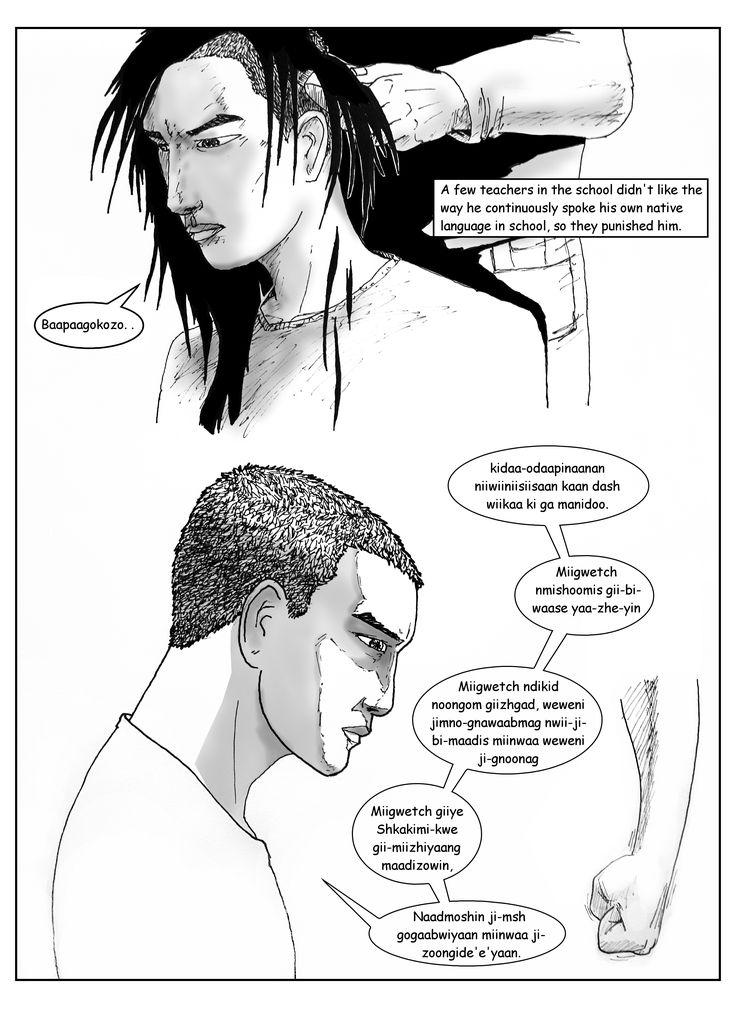 The Prisoner of Haiku #ndigenous, #NatveArtist, #comicbooks, #graphicnovels, #residentialschool, #anishinabemowin