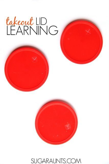 Use recycled plastic cup lids in learning with this sentence type sorting activity. This is great for first grade English Language Arts requirements.